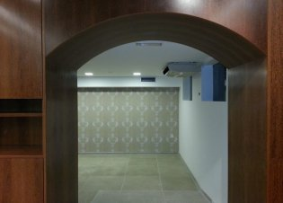 Wall and ceiling sucupira pannel