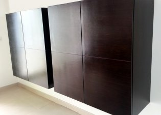 Living Room Wenge Cabinet
